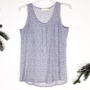 Urban Outfitters | Fox print sleeveless blouse S